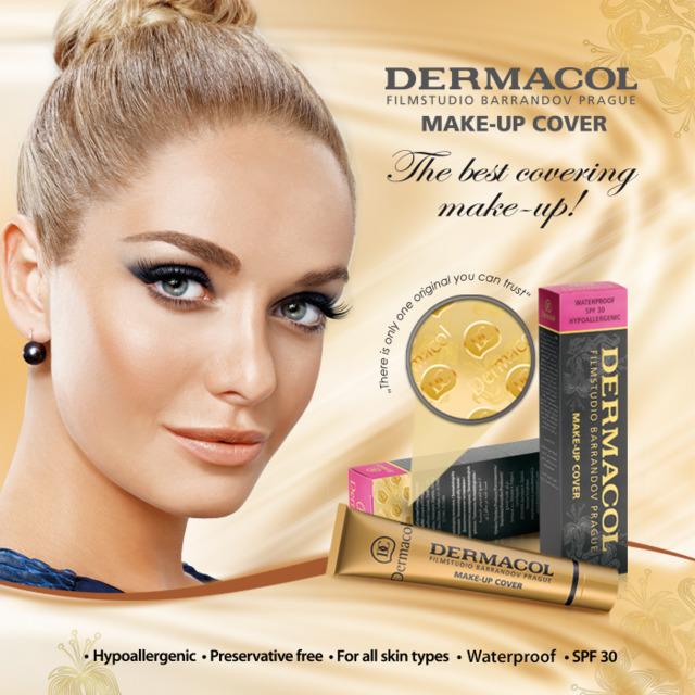 dermacol make up cover dermacol skin care body care. Black Bedroom Furniture Sets. Home Design Ideas